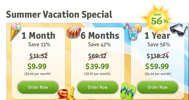 Special Prices HMA (HideMyAss) Amazing Summer Vacation Special 2013