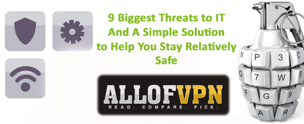 Threats to IT 9 Biggest Threats to IT, and Best Solution to Help You Stay Safe